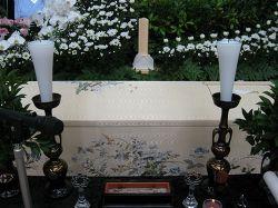 高級刺繍ドーム型棺