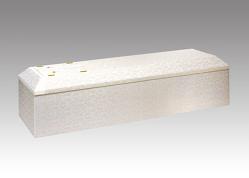 布張ホワイト山型棺